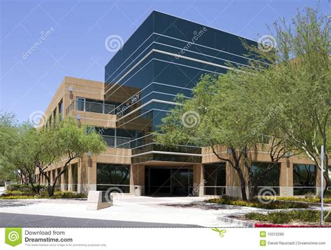 building exterior modern corporate office building exterior stock photo