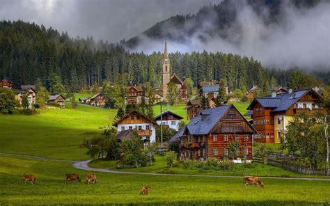 hd austrian countryside wallpaper