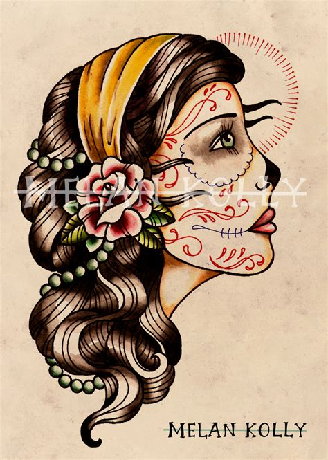 gypsy lady tattoo designs profile design katehelenmuir