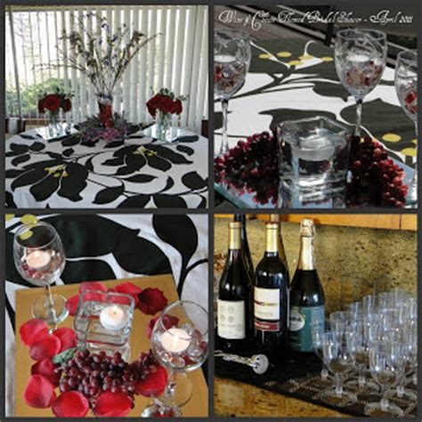 wine cheese bridal shower favors a touch of class wine cheese themed bridal shower