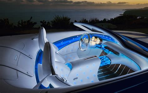 vision mercedes maybach 6 cabriolet is 20 of electric