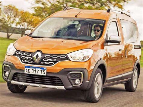2019 Renault Kangoo by Renault Kangoo Stepway 233 Apresentado Na Argentina Autoo