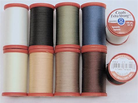 coats and clark upholstery thread sewing threads huntington fabric depot