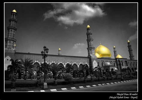 Lu Hias Kubah Masjid 5 masjid termegah dan terbesar di indonesia