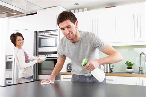 cleaning your kitchen clean up your home to turn up the romance