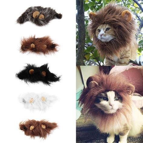 top pet gifts cat mane costume top pet gifts