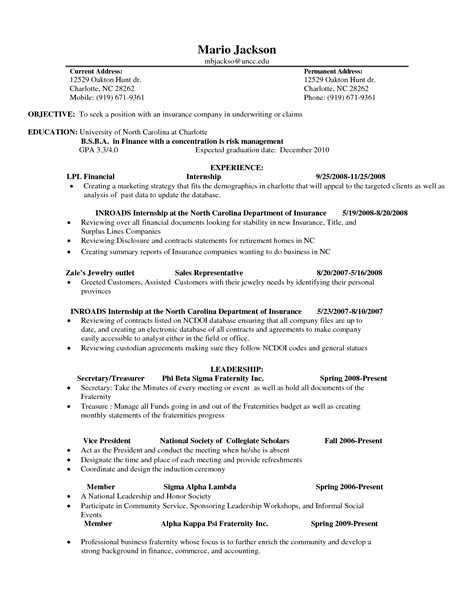 How Many To List On Resume by Students Resume Sle Students 12