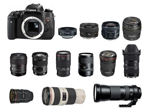 lenses for canon best lenses for canon eos rebel t6s 760d t6i 750d