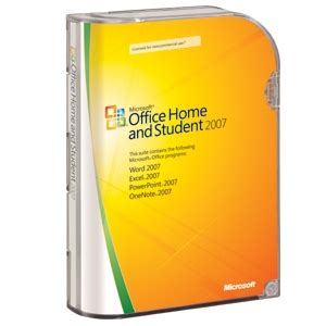 buy the microsoft office home and student 2007 at