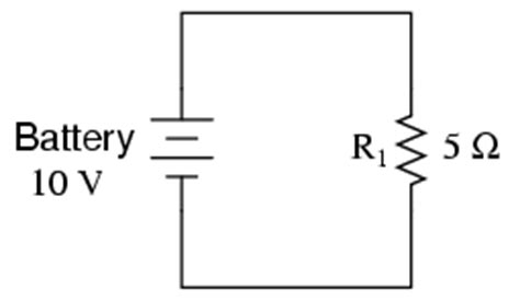 simple electrical circuit resistor lessons in electric circuits volume i dc chapter 2