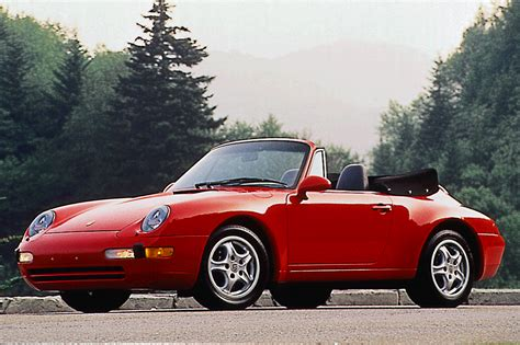 1995 porsche 911 cabriolet 1995 98 porsche 911 consumer guide auto