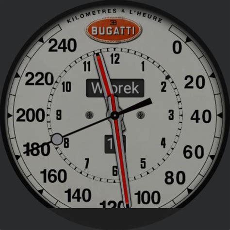 bugatti speedometer bugatti speedometer watchfaces for smart watches