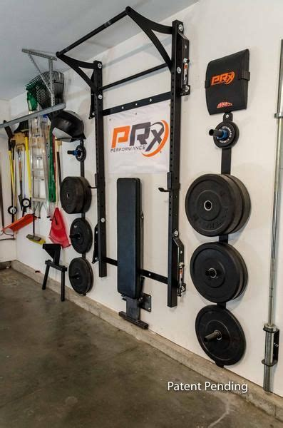 prx profile folding bench   garage garage gym