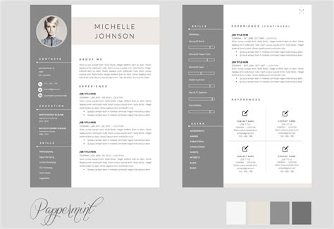 Pages Resume Templates 2016 Free by Pages Resume Templates 2016 Free Planner Template Free