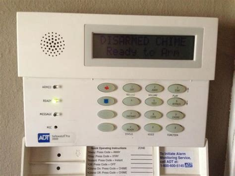 How To Turn Door Chime On Adt Alarm System by The Other Top Ten Questions About Adt Security System