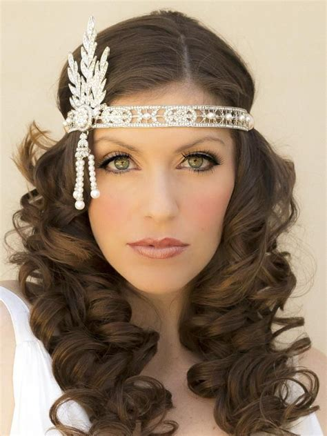 1920s hairstyles for hair with headband hairstyles linz and lexie 1920s hair flapper