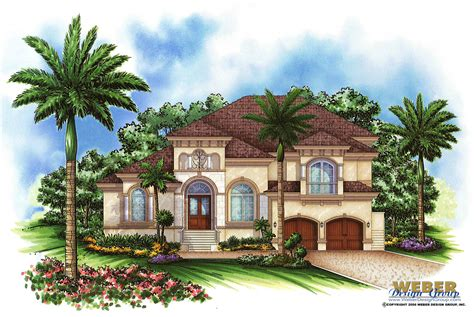 morocco house plan weber design naples fl