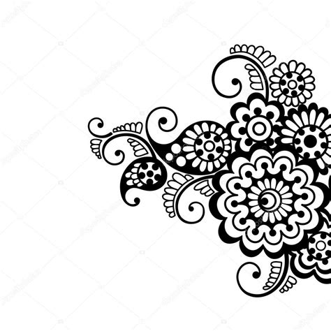 flower vector ornament background stock vector 169 iktash2