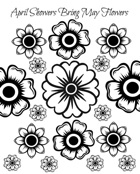 coloring pages of may flowers free printable may flowers coloring page