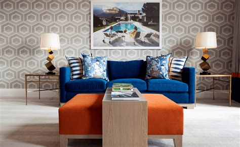 orange and blue home decor fall into orange living room accents for all styles