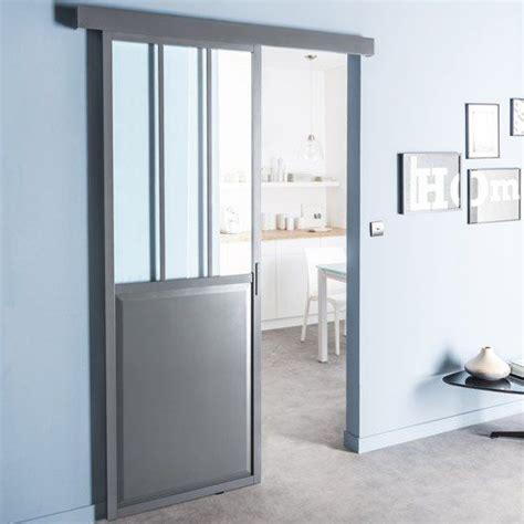 Impressionnant Porte En Verre Interieur #7: Porte-coulissante-aspect-atelier-leroy-merlin.jpg