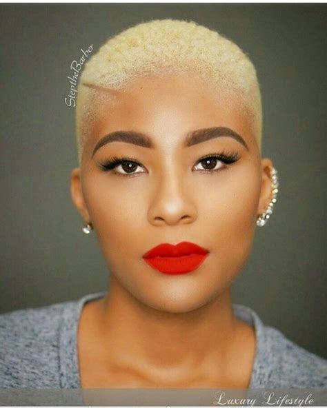 beautiful black women bald haircuts 559 best images about twa hair affair on pinterest