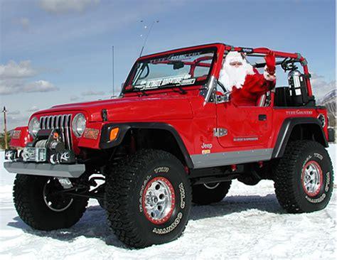 jeep wrangler raindeer pimp my reindeer upgrading santa s sleigh
