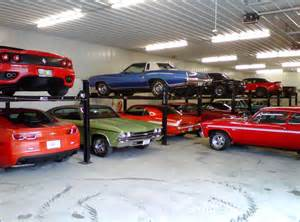 Garage For Cars Storage Lifts For Multi Car Collection Modern Garage