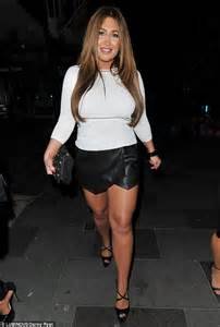 lauren goodger steps   classy outfit keeping