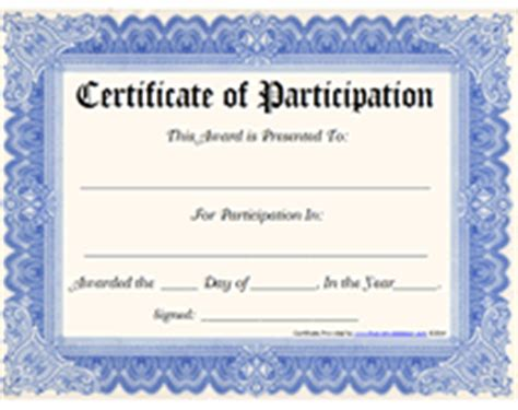 certificate of participation template free chelsea clinton gets lifetime achievement award for doing