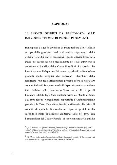 banco posta impresa i servizi offerti da poste italiane alle piccole medie e