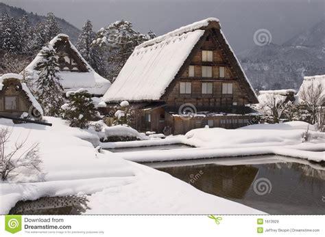 imagenes de japon rural maison rurale du japon image stock image du arbre hiver