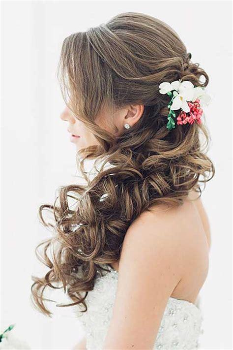 hairstyles down for brides 15 half up half down bridal hair hairstyles haircuts