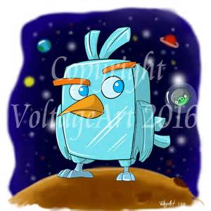 angry birds movie ice bird voltage art deviantart