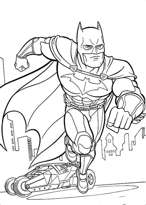 Coloring Batman Coloring Pictures For Kids Printable Batman Coloring Pages