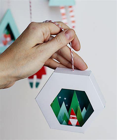 small printable christmas decorations diy christmas decorations with printable items petit small