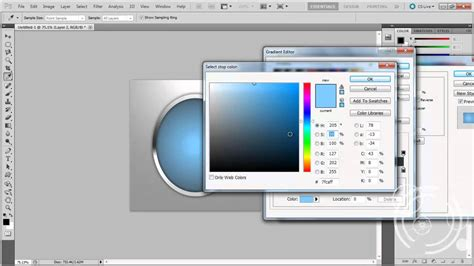 tutorial photoshop cs5 create logo photoshop cs5 ellipse logo making creating tutorial