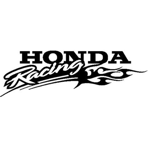 sticker honda racing honda racing decal car interior design