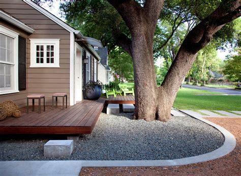 front yard deck designs northwood modern porch by outdoor design