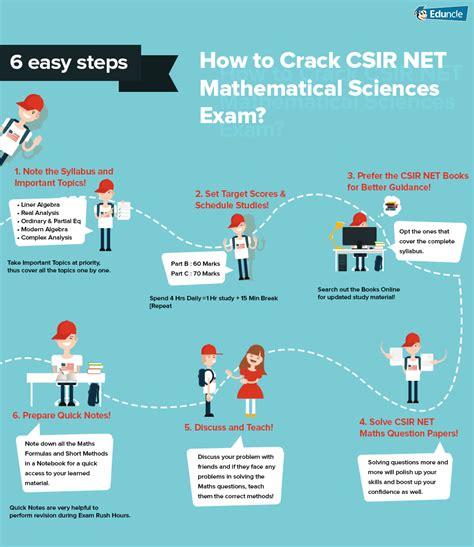 pattern of csir net paper csir net mathematical sciences syllabus books