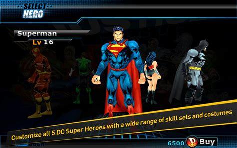 Kaos Justice League Batman Superman Flash 102 justice league efd v1 0 2 hackeado zonaapk