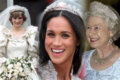meghan markle what tiara did she wear meghan markle could wear princess diana s tiara at royal