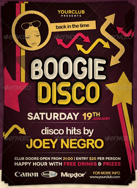 disco flyer template 16 disco flyer templates free psd eps ai indesign