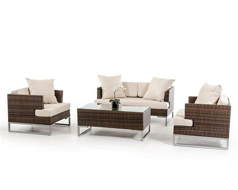 outdoor sofa set contemporary style outdoor sofa set 44p321 set