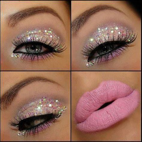 Eyeshadow Pink a collection of 30 best glitter makeup tutorials and ideas for 2017 eyeshadow pink and