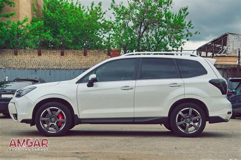 Subaru Brakes by Subaru Forester Sj тормоза Hp Brakes 6 7 тормозные