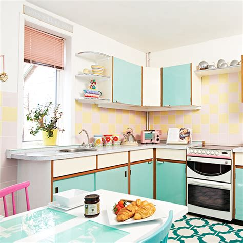 vintage inspired kitchen vintage kitchen ideas ideal home