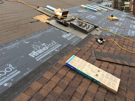 Roof Underlayment Choosing Synthetic Or Felt Underlayment For Your Roof