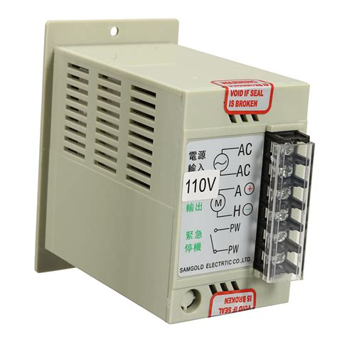 Ac Motor Dc Motor by Dc 51 1 3 Phase Ac 110v Motor Speed Controller Variable