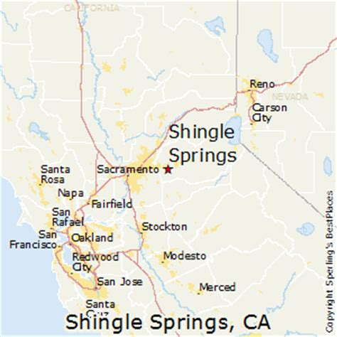 springs california map best places to live in shingle springs california